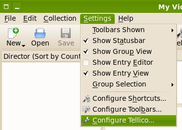 Tellico Configuration